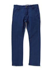 HANE KIDS PANT WO BELT 214 - Blue Depths