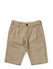 HANSI KIDS LINEN LONG SHORTS 214 - Silver Mink