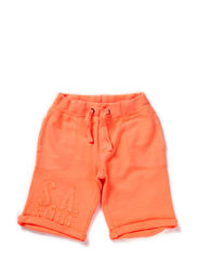 IVANHO KIDS SWEAT LONG SHORTS 214 - Orange Pop
