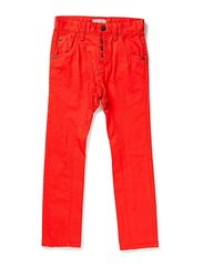 GARRY KIDS ANTI FIT PANT 214 - Poppy Red