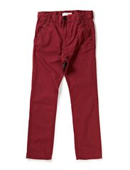 OSCAR KIDS CHINO ANTI F TWILL PANT 613 - Burgundy