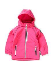 ALFA MINI SOFTSHELL SOLID PINK GL FO 314 - Pink Glo