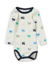 WILLI WOOL NB LS BODY BOY 314 NOOS - Cloud Dancer