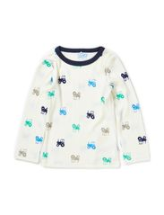 WILLI WOOL MINI LS TOP AUG BOY 314 - Cloud Dancer