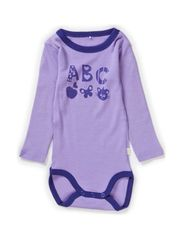 WILLI WOOL MINI LS BODY GIRL 314 NOOS - Bougainvillea