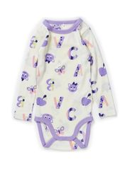 WILLI WOOL MINI LS BODY GIRL 314 NOOS - Cloud Dancer