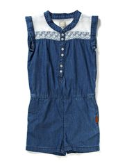 BURNA KIDS DNM SHORT SUIT 214 - Light Blue Denim