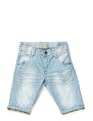 CALE KIDS DNM REG LONG SHORTS 214 - Light Blue Denim