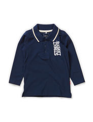 VARTIN MINI LS POLO JULY 414 - Dress Blues