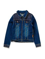 ABIBSEN KIDS DNM JACKET 214 - Medium Blue Denim