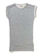KEPELLI KIDS SS SLIM TUNIC 414 - Grey Melange