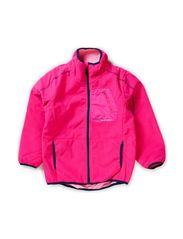 MAMBO KIDS FLEECE CARDIGAN GIRL FO 314 - Pink Glo