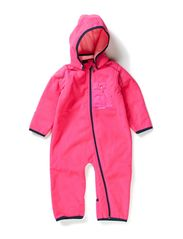 MAMBO NB FLEECE SUIT GIRL FO 314 - Pink Glo
