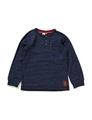 KIMONSON MINI LS TOP 414 - Dress Blues