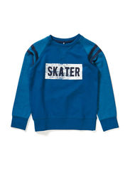 JAZZ KIDS SWEAT 414 - Moroccan Blue