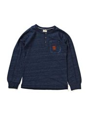 KIMON KIDS LS TOP 414 - Dress Blues