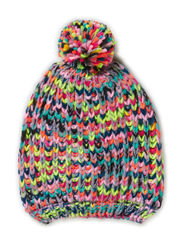 MALINA KIDS KNIT HAT GIRL 414 - Dapple Gray