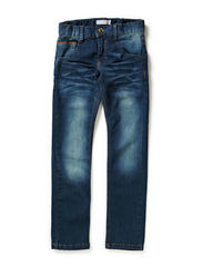 SAMSON KIDS XSL/XSL DNM PANT NOOS - Medium Blue Denim