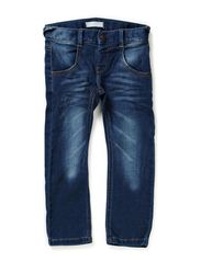 RICK MINI DNM REG/SLIM PANT NOOS - Dark Blue Denim