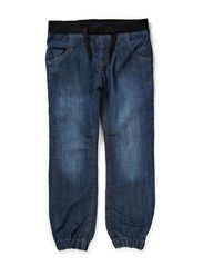 UNO KIDS DNM BAG/BAG PANT R NOOS - Dark Blue Denim