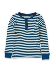 VILANO MINI LS SLIM TOP STR SEP 514 - Moroccan Blue