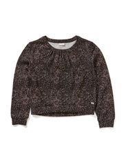 LESNAKE KIDS LS SHORT TOP 514 - ROSE BROWN