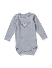 LISETTE NB CU LS BODY 514 - Grey Melange
