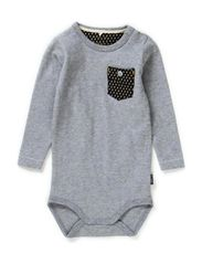 LUFFE NB CU LS BODY 514 - Grey Melange