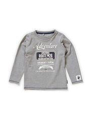 NUDSON MINI LS TOP BOX 514 - Grey Melange