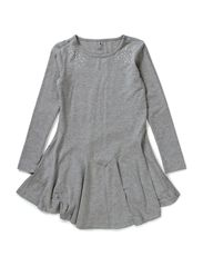 LENYNNE KIDS LS SLIM TUNIC 514 - Grey Melange