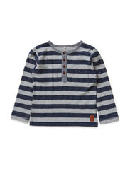 NIFFESON MINI LS TOP 514 - Grey Melange