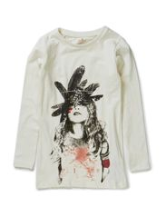 NENIKA KIDS LS LONG SLIM TOP 514 - Cloud Dancer