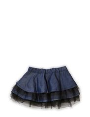 BEL MINI DNM SKIRT 514 - Dark Blue Denim