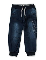 AKASH MINI DNM BAG/XR PANT W ART 514 - Dark Blue Denim