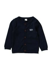 TIM NB SLIM KNIT CARDIGAN 514 - Dress Blues