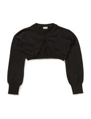 PALLY KIDS LS KNIT BOLERO 614 - Black