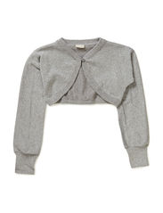 PALLY KIDS LS KNIT BOLERO 614 - GREY MELANGE