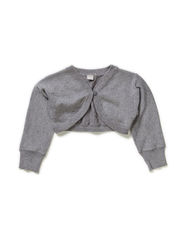 PALLY MINI LS KNIT BOLERO 614 - Grey Melange
