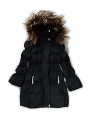 MOCCA KIDS DOWN JACKET GIRL BLACK 414 - Black