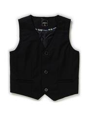 PANAVA KIDS WAISTCOAT 614 BLACK - Black