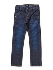 E KIDS DNM SLIM/SLIM PANT LMTD 6XAU14 - Dark Blue Denim