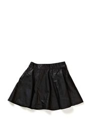 KEKOLAK KIDS FAKE LEATHER SKIRT 414 - Black