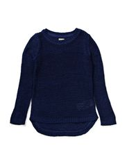 KEGRE KIDS LS KNIT 414 - Blue Depths