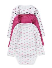 3-P VALERIE MINI LS BODY SEP 514 - Red Violet