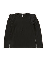OMALINA KIDS LS TOP LMTD 6 X-AU14 - Black