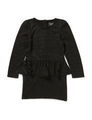 OMALINA KIDS LS DRESS LMTD 6 X-AU14 - Black