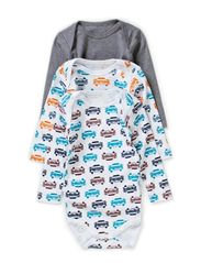 3-P VROOM NB LS BODY SEP 514 - Grey Melange