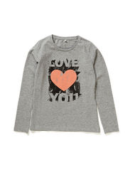 DASWAN KIDS LS TOP 115 - Grey Melange