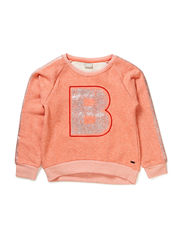 DIAMORA KIDS LS SWEAT 115 - Fusion Coral