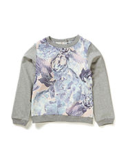 ESMILLA KIDS LS SWEAT LMTD 1 X-SP15 - Cloud Dancer